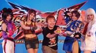 มร.โยชิโนริ โอโนะ ผู้พัฒนาเกม  Street Fighter X Tekken ที่บินตรงมาจากญี่ปุ่นเพื่อร่วมงานเปิดตัว PS Vita