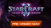 Blizzard จัดเต็มกับเกมดังแห่งปีที่สาวกรอคอย SC II : Heart of the Swarm เปิดจองแล้ววันนี้ ราคา 1,350 บาท