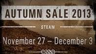Steam จัดหนักอีกครั้งกับฤดูกาลของการลดราคา AUTUMN SALE ที่ขนเกมใน Steam  มาลดราคาแบบไม่กลัวขาดทุน